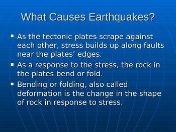 Earthquakes PowerPoint