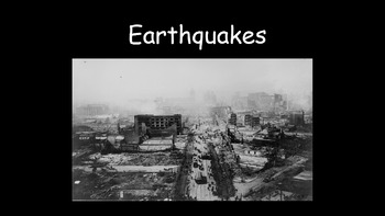 Earthquakes - Predicting Earthquakes Practical Investigation