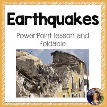 Earthquakes SMART notebook presentation