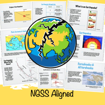 Earthquakes STEM and Grades 6 - 8 Science Lesson