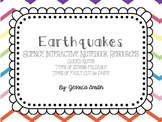 Earthquakes Interactive Notebook