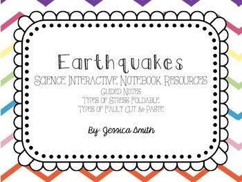 Earthquakes Interactive Notebook