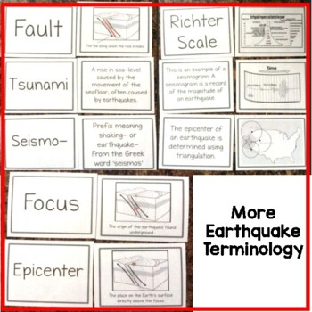 Earthquakes: Sorting Cards