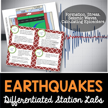 Earthquakes Student-Led Station Lab