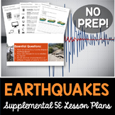 Earthquakes - Supplemental Lesson - No Lab
