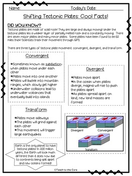 Earthquakes NO PREP Close Read Text, Graphic Organizers, Activities- Gr. 3-6