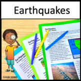 Earthquakes Unit NGSS 4-ESS2-2, 4-ESS3-2 and 4-ESS1-1