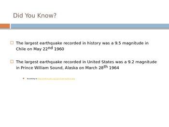 Earthquakes - What are Earthquakes