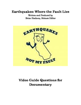 Earthquakes: Where the Fault Lies Documentary Video Guide