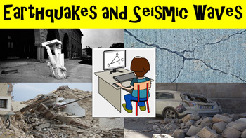Earthquakes No Prep Lesson with Power Point, Worksheet, an