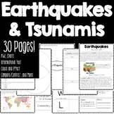 Earthquakes and Tsunamis Informational Bundle