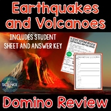 Earthquakes and Volcanoes Domino Review