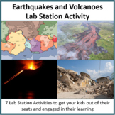 Earthquakes and Volcanoes - Lab Station Activity