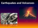 Earthquakes and Volcanoes Notes Bundle
