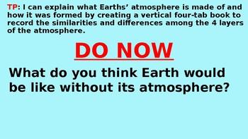 Earths' Atmosphere