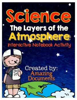 Earth's Atmosphere  - Interactive Science Notebook