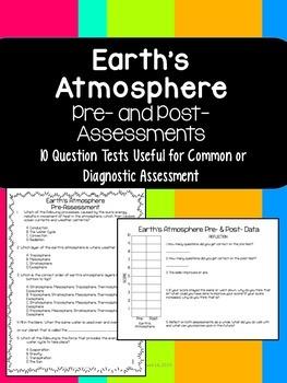 Earth's Atmosphere Quiz