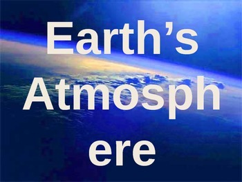Earth's Atmosphere Review Game