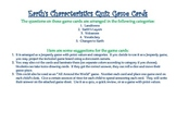 Earth's Characteristics (Landforms, Weathering, Erosion) Game Cards
