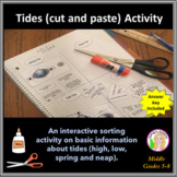 Tides (cut and paste) Activity