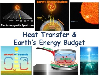 Earth's Energy Budget Lesson & Flashcards - task cards, study guide, exam prep
