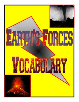 Earth's Forces Vocabulary