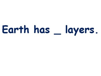 Earth's Geology Flashcards - task cards, study guide, state exam prep