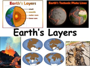 Earth's Geology Lesson & Flashcards - task cards study guide exam prep 2018 2019