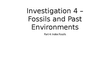Earths History Investigation 4 Part 4