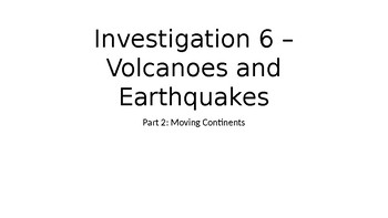 Earths History Investigation 6 Part 2