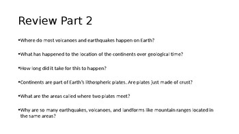 Earths History Investigation 6 Part 3