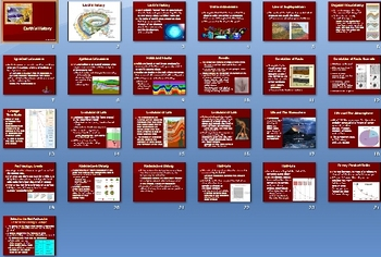 Earths History Smartboard Notebook Presentation Lesson Plan