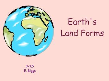 Earth's Landforms - Smartboard Lesson