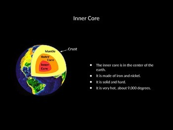 Earth's Layers Powerpoint
