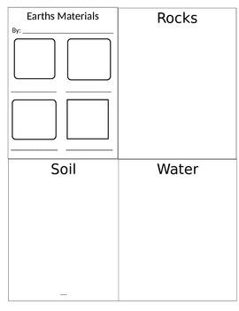 Earth's Materials Flip Book