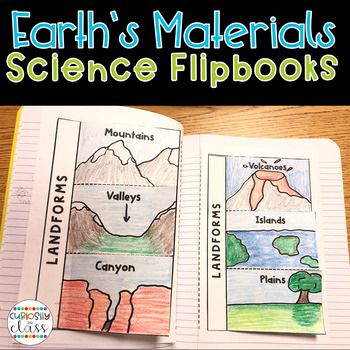 Earths Materials Science Flipbook