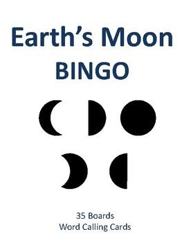 Earth's Moon BINGO!