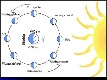 Earth's Moon PowerPoint- phases, eclipses, gravity