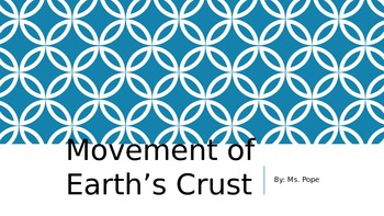 Earth's Movement