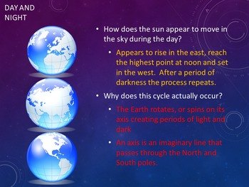 Earth's Orbit Affects Time Zones & Seasons (PowerPoint, Group Activities x 2)