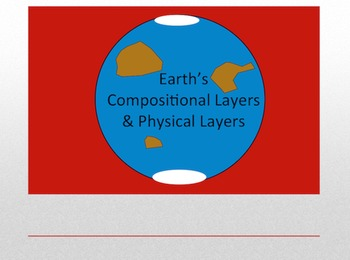 Earth's Physical Layers & Compositional Layers