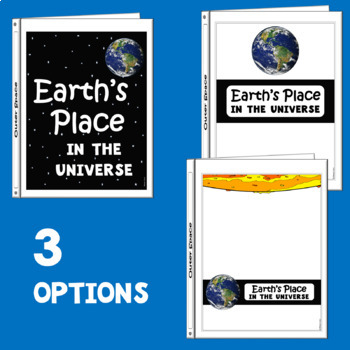 Earth's Place in the Universe:  Next Generation Science Standard Binder Cover