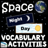 Earth's Place in the Universe Outer Space Vocabulary and A