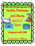 Earth's Features and Landforms BINGO! Game