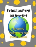 Earth's Processes and Landforms Study Guides and Graphic Organizers