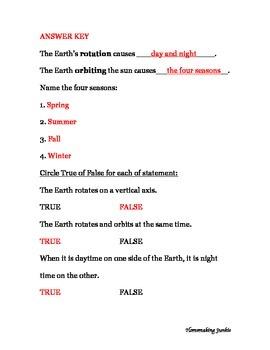 Earth's Rotation & Orbit Assessment
