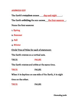 Earth's Rotation & Orbit Assessment