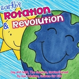 Earth's Rotation & Revolution {Aligns with NGSS 1-ESS1-1, 1-ESS1-2} {science}
