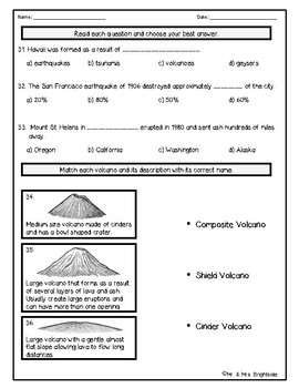 earthquake questions and answers pdf