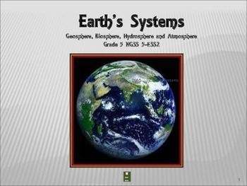 Earth's Systems: NGSS  Grade 5-ESS2